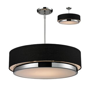 Josue 3-Light Drum Chandelier By Orren Ellis Ceiling Lights