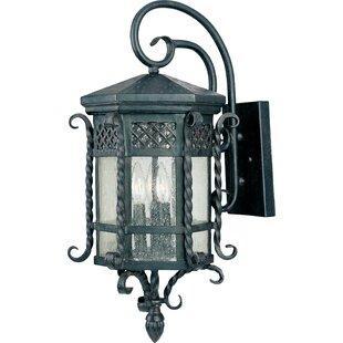 Scottsdale 3 Light Outdoor Wall Lantern b..