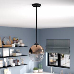 Wrought Studio Dorsch 1-Light Globe Pendant
