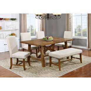 Solid Wood Dining Table by BestMasterFurniture