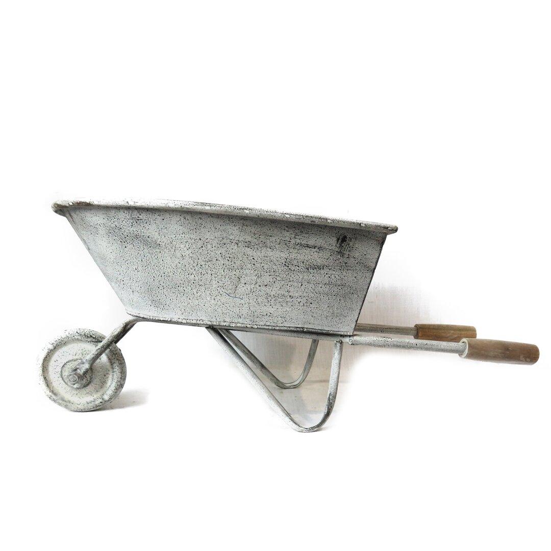 Mirabelle Metal Wheelbarrow Planter