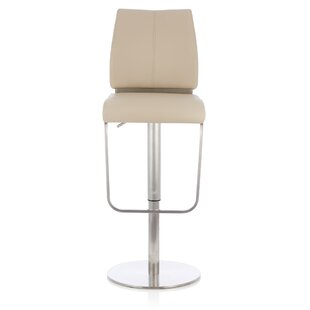 Clavier Height Adjustable Swivel Bar Stool By Wade Logan
