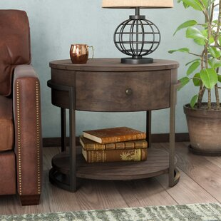 Drishya Accent Table by 17 Stories