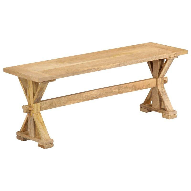 Alpen Home Sitzbank Jakayla Aus Holz