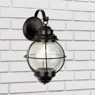 Buying Ervin 1-Light Outdoor Wall Lantern By Beachcrest Home