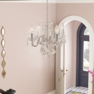 Lamy 4-Light Candle Style Chandelier