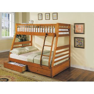 Roseanne Twin Over Full Bunk Bed with Drawers