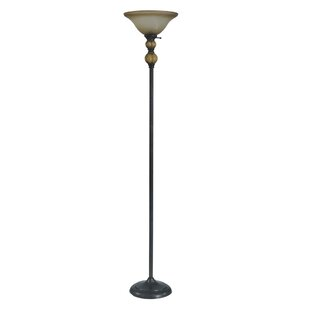 Red Barrel Studio Vesey 71'' Torchiere Floor Lamp