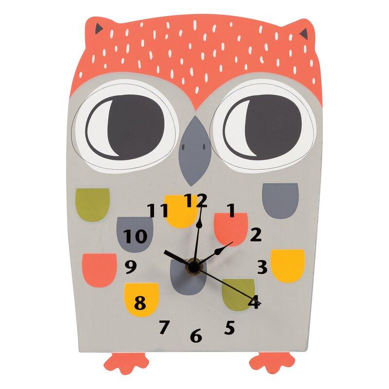 Isabelle Max Asbury Lake Wall Clock Reviews Wayfair