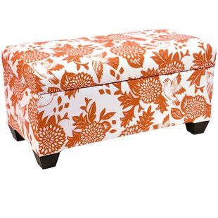 Darby Home Co Bay State Linen Upholstered Storage Bench