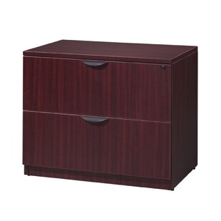Latitude Run Linh 2-Drawer Laminate File