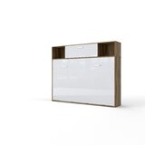 Gerwar Twin Storage Murphy Bed with Mattress by Orren Ellis