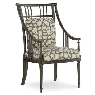 Fusion Jasper Spindle Upholstered Dining Chair (Set of 2) by Fine Furniture Design