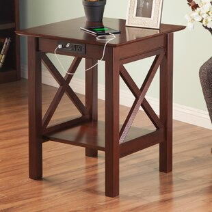 Compare prices Grosvenor End Table ByAlcott Hill