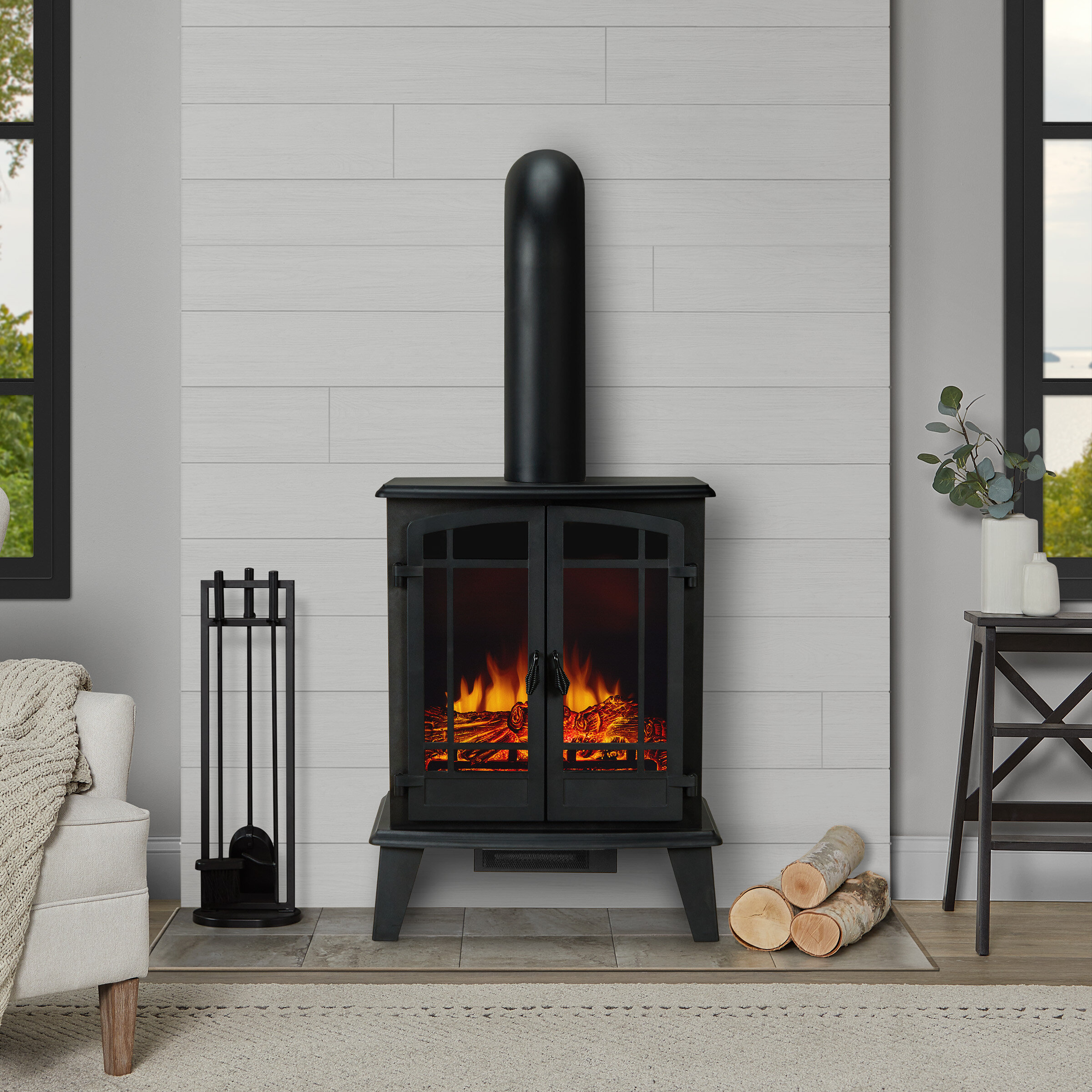 Real Flame Foster Electric Stove Reviews Wayfair