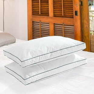 Tenley Medium Down Feather Bed Pillow (Set of 2)