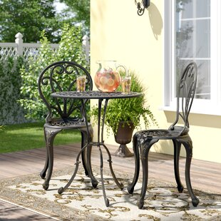 Tenafly 2 Seater Bistro Set By Blue Elephant