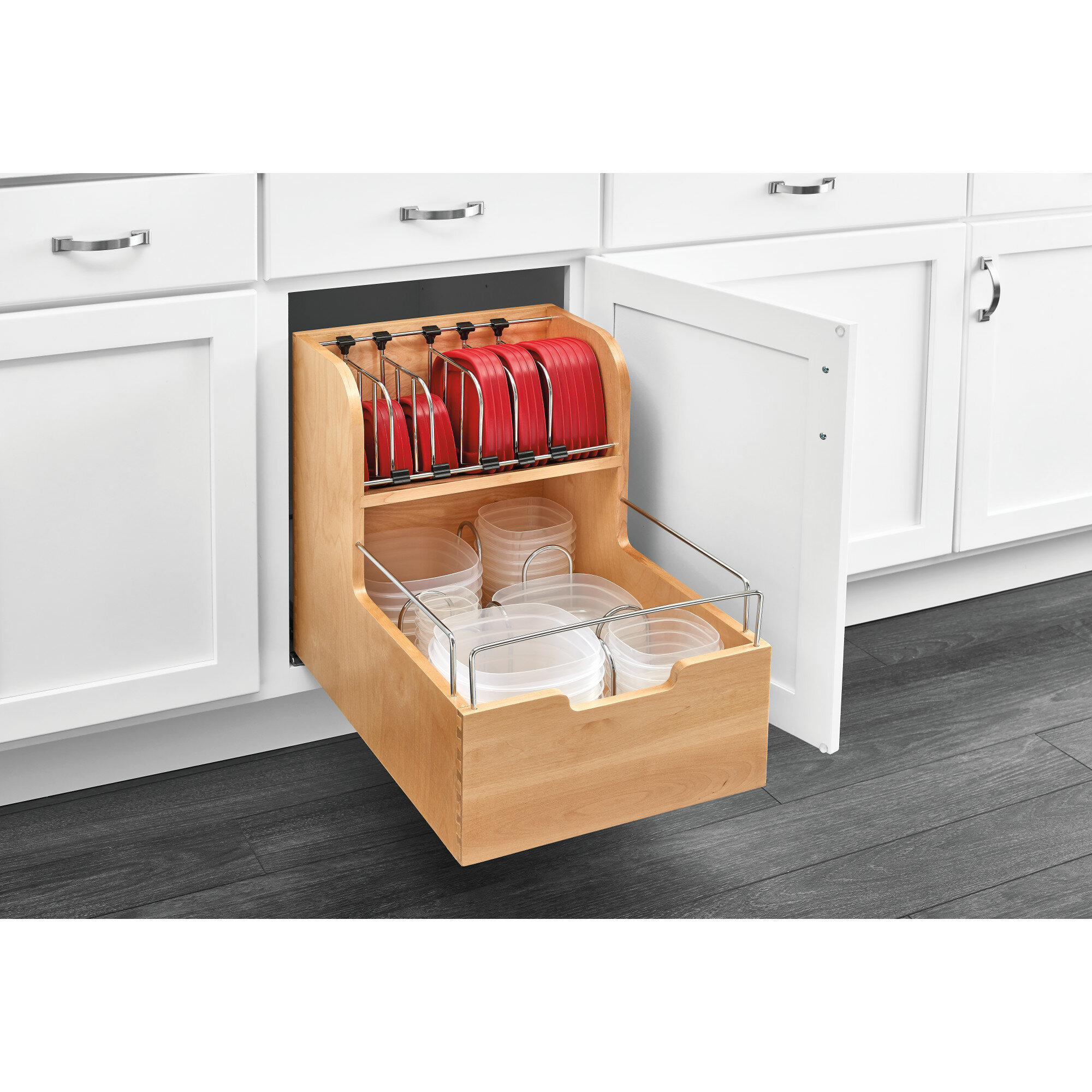 Rev A Shelf Food Storage Pull Out Pantry Reviews Wayfair