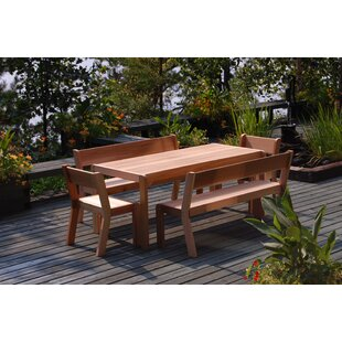 Zaina Rectangular Wooden Dining Table