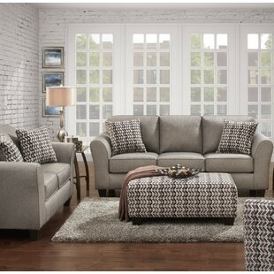 Ebern Designs Fairmount 3 Piece Living Ro..