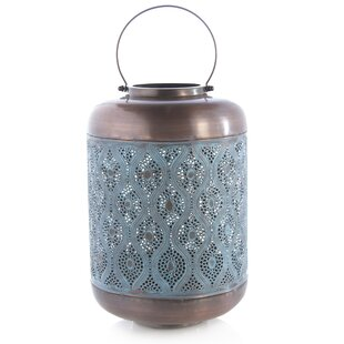 Read Reviews Metal Lantern By Bungalow Rose