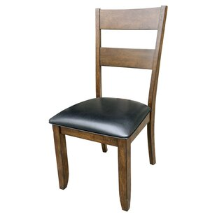 Alder Ladderback Side Chair (Set of 2) Loon Peak