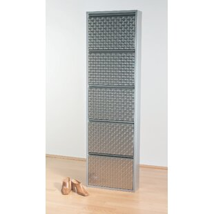 Read Reviews Caruso 10 Pair Shoe Storage Cabinet
