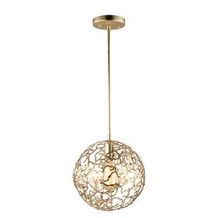 Aicha 1-Light Mini Globe P..
