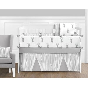 Stag 9 Piece Crib Bedding Set