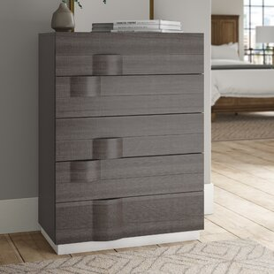 Bargain Rutherford 5 Drawer Media Chest by Brayden Studio Reviews (2019) & Buyer's Guide