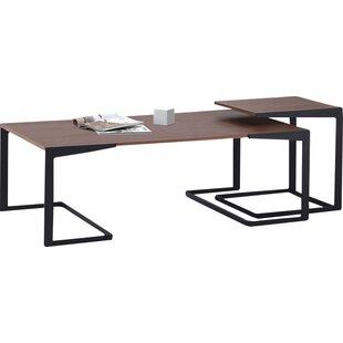 Brayden Studio Grund 2 Piece Coffee Table Set