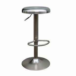 Adjustable Height Bar Stool by Woodland I..