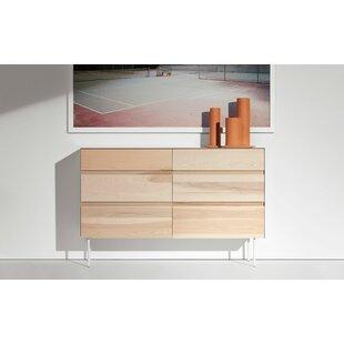 Clad 6 Drawer Double Dresser by Blu Dot