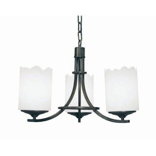 2nd Ave Design Octavia 3-Light Shaded Chandelier