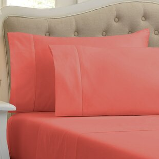 Holloway 400 Thread Count Solid 100% Cotton Sheet Set By Home Fashion Designs