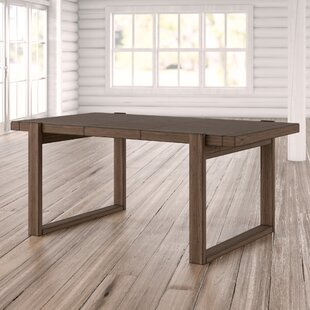 Fiorella Rectangular Extendable Dining Table Union Rustic