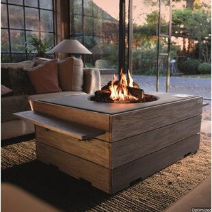 Karla Concrete Propane Fire Pit By Sol 72 Outdoor