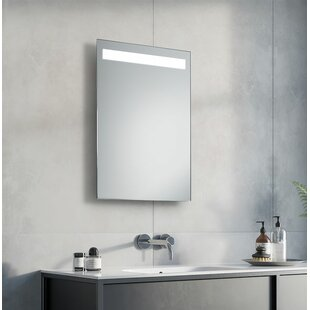 Simplex Led Illuminated Bathroom Mirror