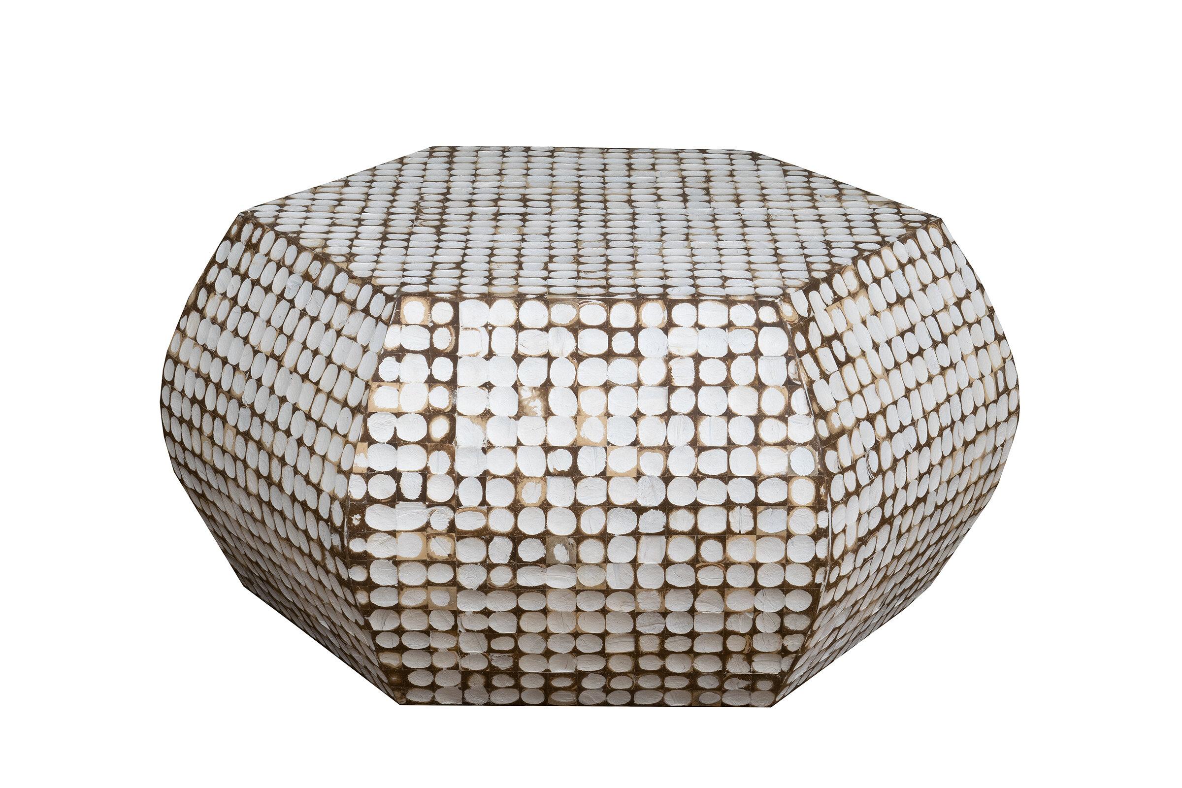 Sherlyn Solid Wood Block Coffee Table Reviews Joss Main