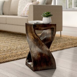 Belen Twist End Table by Mistana