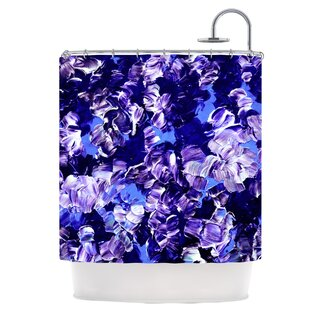 Floral Fantasy Single Shower Curtain