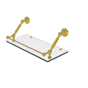 17 Stories Philo-Marie Floating Shelf Wit..