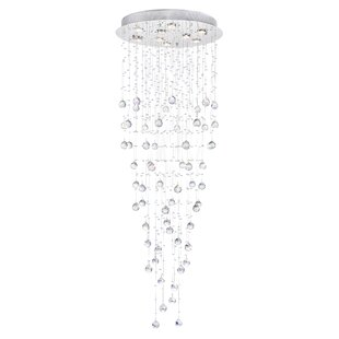 CWI Lighting Rain Drop 9-Light Flush Mount