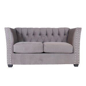 Mitchell Chesterfield Loveseat by REZ Furnit..
