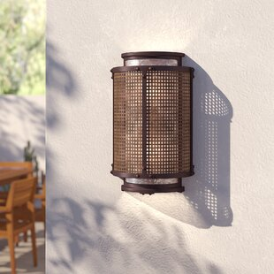 Shyanne 2-Light Outdoor Flush Mount by Mistana