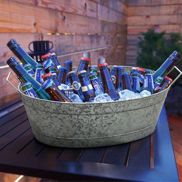 Galvanized Steel Beverage Tub Wayfair