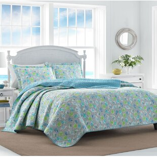 0a103fd8dce31d At the Seashore Reversible Quilt Set by Laura Ashley Home