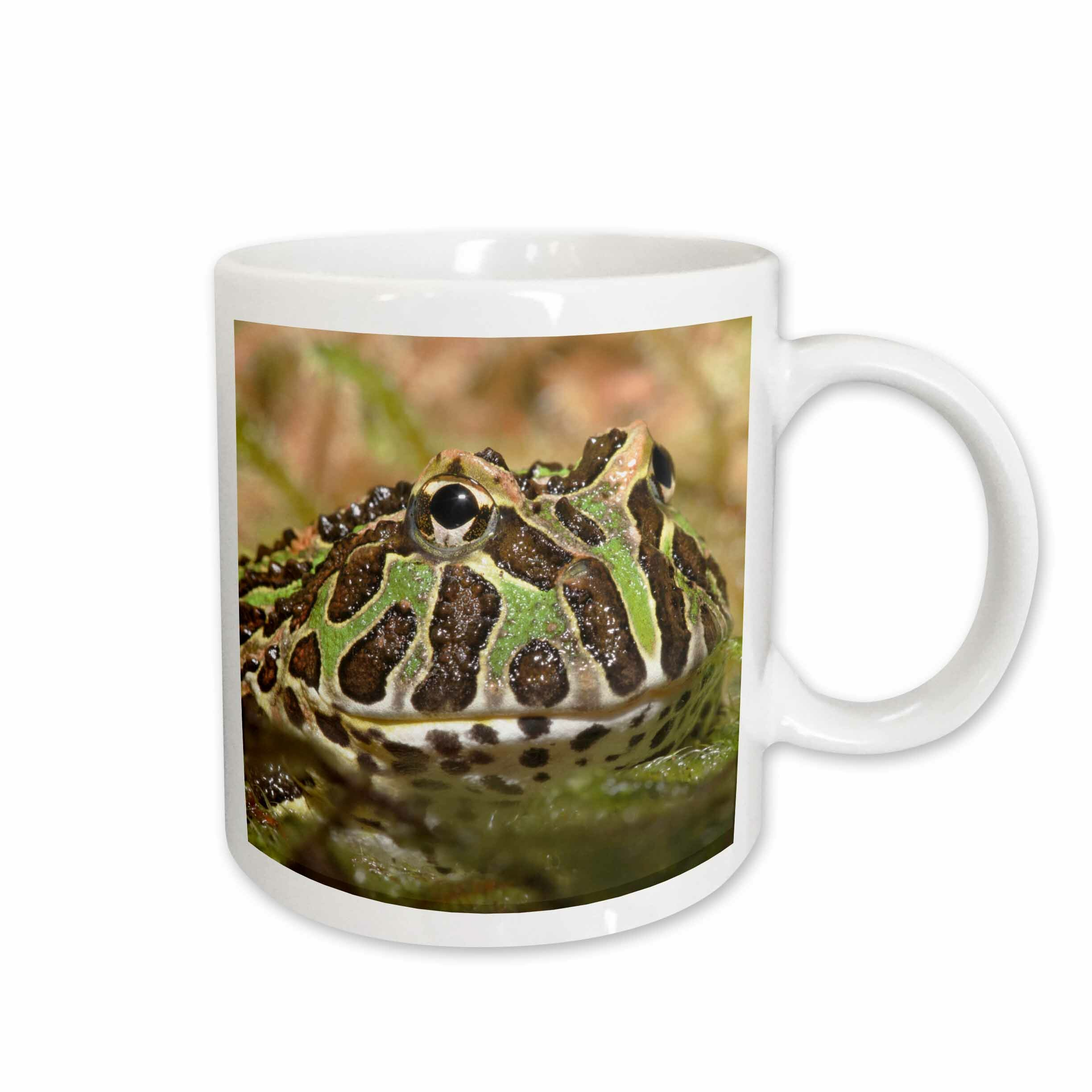 East Urban Home Pacman Frog South American Horned Frog Coffee Mug