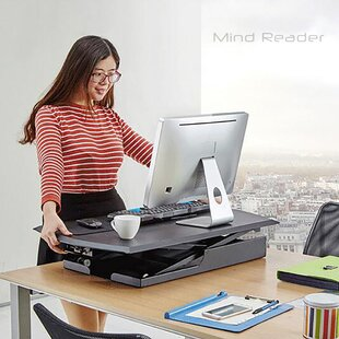 Mind Reader Sit and Stand Desk