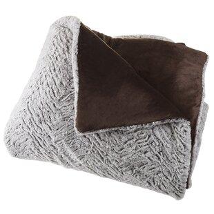 Estrada Mink Faux Fur 3 Piece Comforter Set